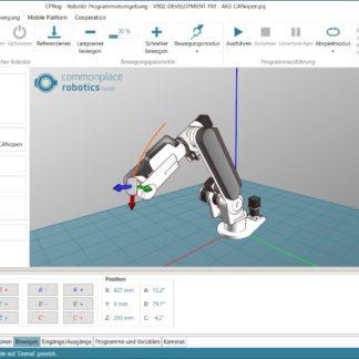 CPRog with Annin Robotics AR3